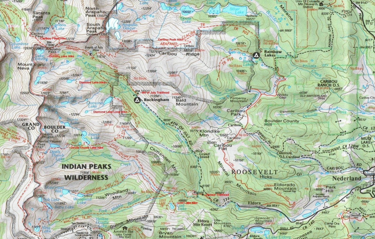 hike_diamond_loop_albm Devils Thumb Trail Map on mt. mitchell trail, castle rock trail, alaska trail, slick rock trail, boundary peak trail, black mountain trail, redwood creek trail, mount juneau trail, niagara gorge trail, camelback mountain trail,